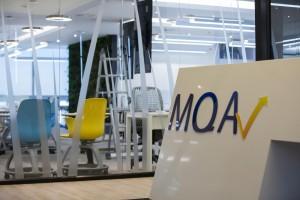 Recepción MQA - Nuevas oficinas