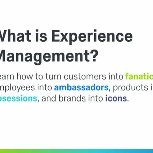 Experience Management